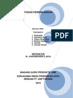 TUGAS PERENCANAAN KELOMPOK II.docx