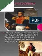 Biografia de Vicente Guerrero