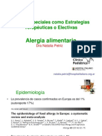 Alergia Alimentaria Dietas Especiales
