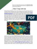 Tembak Ikan Joker Uang Asli Asia