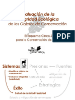 Evaluacion de La Integridad Ecologica OC