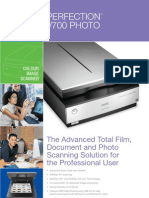 Epson Perfection V700 Photo Brochure