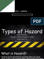 Types of Hazard