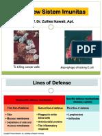 Overview Sistem Imunitas 2018
