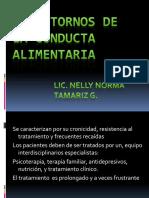 Transtornos de La Conducta Alimentaria 2016-2