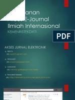 E-Journal Ristekdikti Tahun 2017 - Monev Tanjungpinang