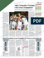 La Provincia Di Cremona 14-10-2018 - Serie B