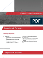 Completions and Workover