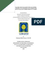 Internship Report - Pt. Fumira