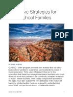 05 Innovative Strategies for Homeschool Families