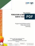 Buku Panduan KTI D III Keperawatan
