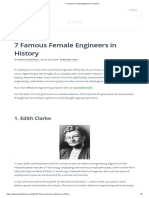 7 Famous Female Engineers in History