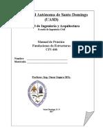 Manual Fundaciones de Estructuras