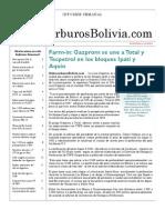 Hidrocarburos Bolivia Informe Semanal Del 4 Al 10 Octubre 2010