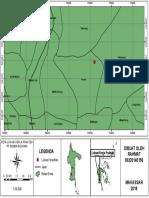 Contoh Peta A3 lokasi penelitian