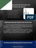 Perforación Rotatoria de Pozos de Agua