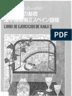 Shin Nihongo No Kiso 2 Kanji Workbook ESP