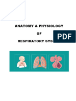 Anatomy & Physiology of Respiratory System