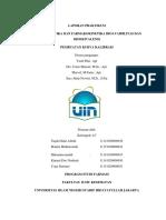 Laporan Praktikum I Pembuatan Kurva Kalibrasi 2018 (Kelompok 4c)