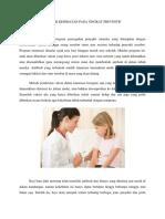 Contoh Promosi Kesehatan Pada Tingkat Preventif