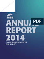 DOH Annual Report2014a