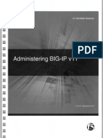 F5 Administering BIP-IP V11