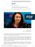 Brasil - Alemanha – Parlamentar Ameaça Brasil Caso Bolsonaro Vença-x