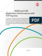 Optimize Wan and Lan Application Performance With Tcp Express