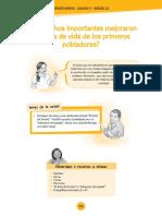 -¿Qué Hechos Importantes Mejoraron La Forma de Vida de Los Primeros Pobladores
