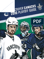 2010 Vancouver Canucks Playoff Media Guide