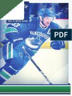 2012-13 Vancouver Canucks Media Guide