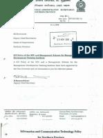 ICTPolicy4&GovernorMemorandam