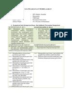 Rencana Pelaksanaan Pembelajaran Pgl
