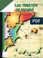 Atlas Tematico de Espana Franco Aliaga