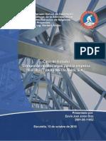 Compra de Montacargas Para La Empresa Estructuras Metalicas, S.A