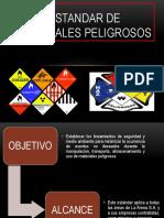ESTANDAR DE MATERIALES PELIGROSOS.pptx