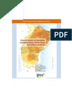 desertificação Nordeste IPEA