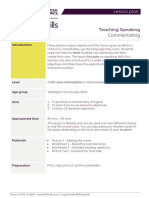 Premierskillsenglish Lessonplan Teachingspeaking Commentaries