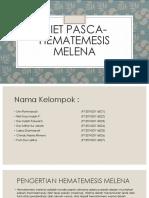 DIET PASCA-Hematemesis Melena