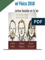 Nobel Física 2018