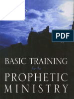 VOLLOTTON, Kris and MUNROE, Myles (s.f.), Basic Training for the Prophetic Ministry. Destiny Image