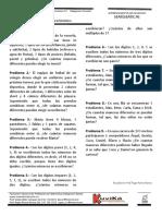 Entrenamiento 4.1 Combinatoria