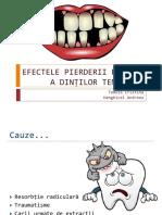 Efectele Pierderii Precoce a Dinților Temporari