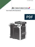 C360 Printer Manuel