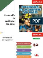 Prevención y Accidentes Con Gases Rimac Minería Ultimo