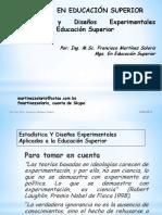 estadsticaydiseosexperimentalesaplicadosalaeducacinsuperior-130917205232-phpapp02