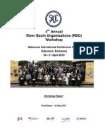 SADC RBO Workshop 2010_Final Report
