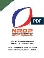 NRDP Rugby Carnival 2019_Maklumat Am Pertandingan