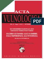 Acta Vulnologica 2013