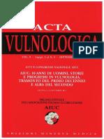 Acta Vulnologica Maiera Ancona 2011 Aiuc